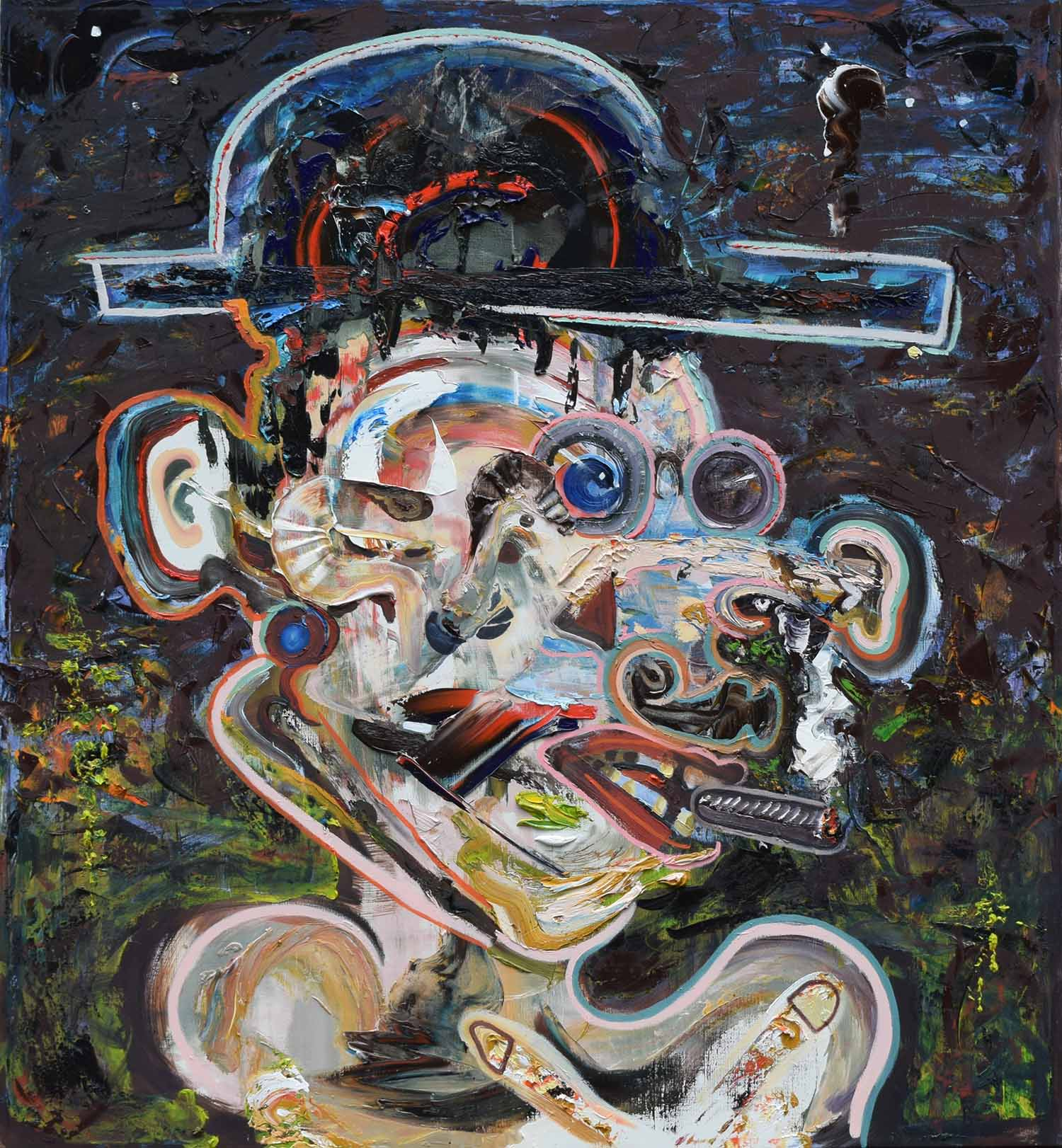 laurence jansen, laurence jansen artist, laurence jansen painter, portrait art, portrait painting, abstract portrait, abstract portraiture, impasto technique, painting, fine art painting, contemporary art, contemporary painting, laurence jansen, laurence jansen art, laurence jansen painting, laurence jansen artist, london based artist, contemporary painter, art,