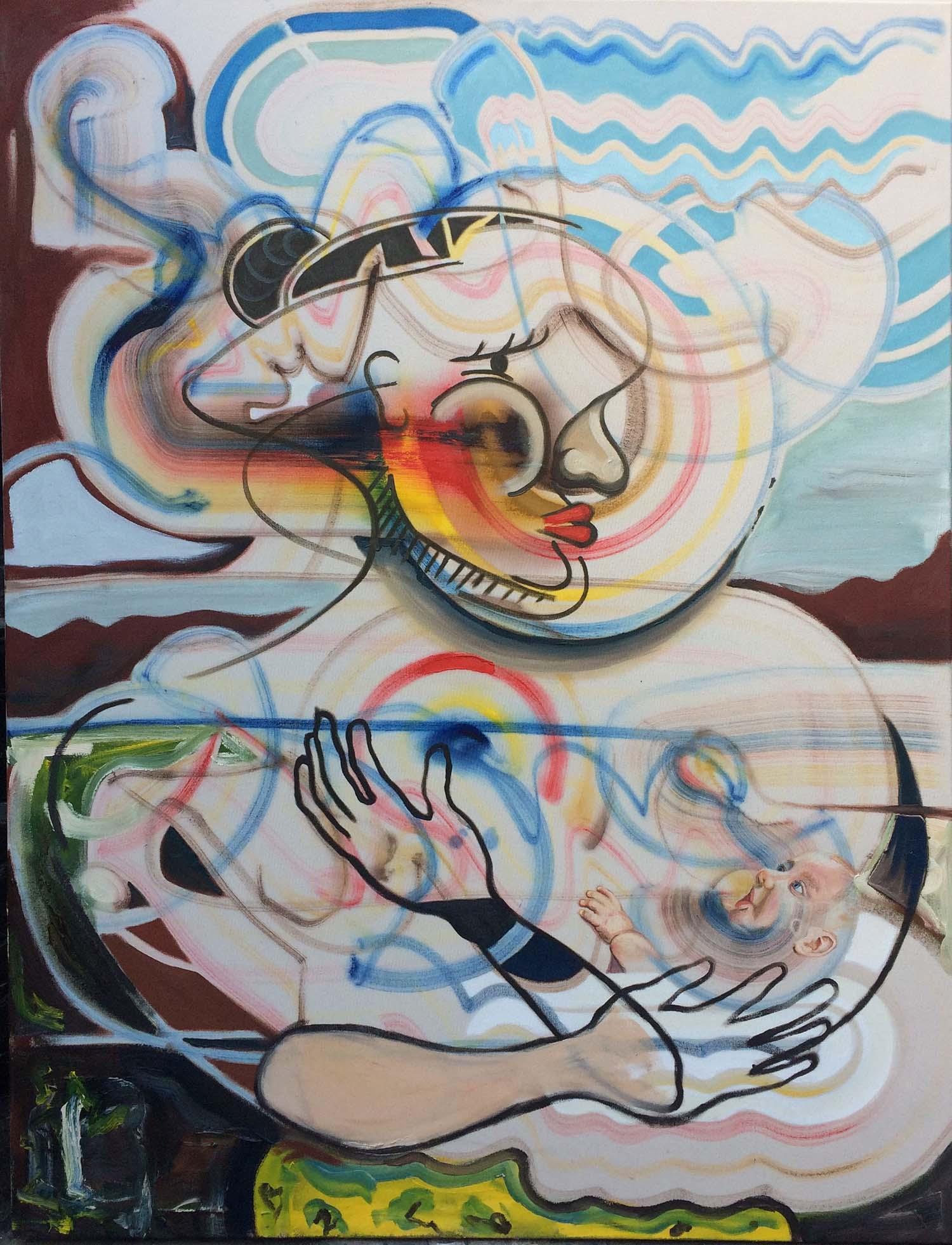Obtain Victuals, oil on canvas, 150x120cm, 2018.1500ppi.4.web
